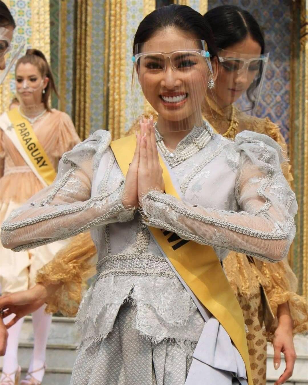 Khoảnh khắc xinh đẹp với thần thái 'đỉnh cao' của Ngọc Thảo ở hậu trường Miss Grand ảnh 6