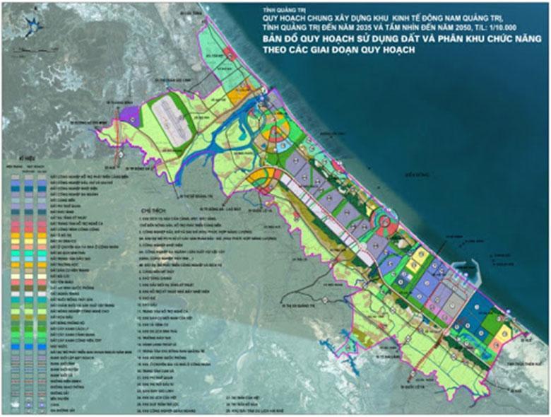 Quy hoạch chung Khu Kinh tế Đông Nam tỉnh Quảng Trị
