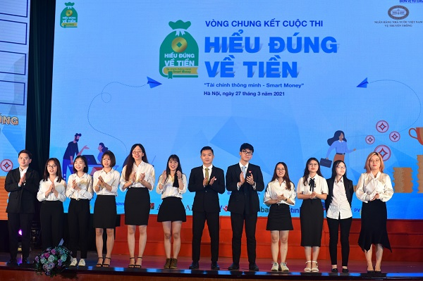 Cuộc thi cung cấp những kiến thức hữu ích về tài chính, ngân hàng cho các sinh viên.