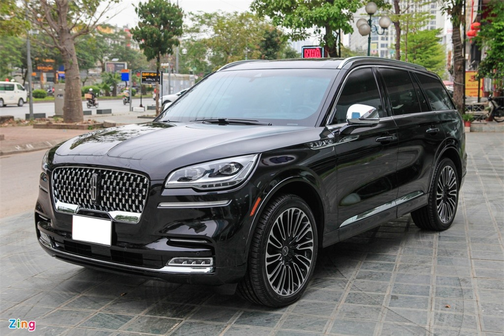 Chi tiet Lincoln Aviator Black Label - SUV 7 cho gia hon 6 ty dong anh 2