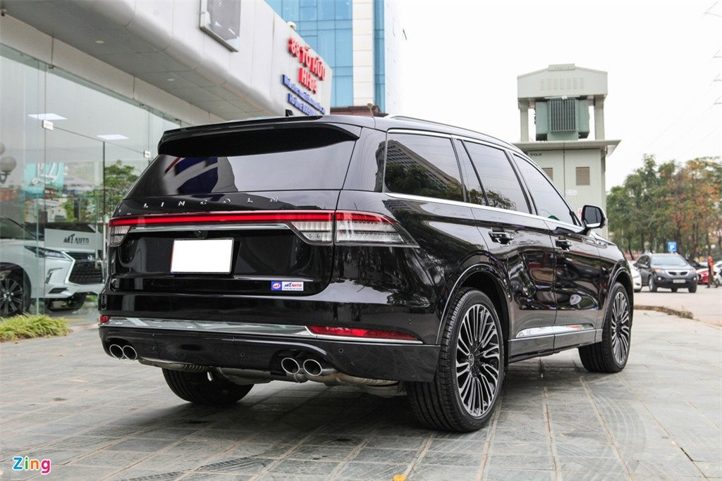 Chi tiet Lincoln Aviator Black Label - SUV 7 cho gia hon 6 ty dong anh 3