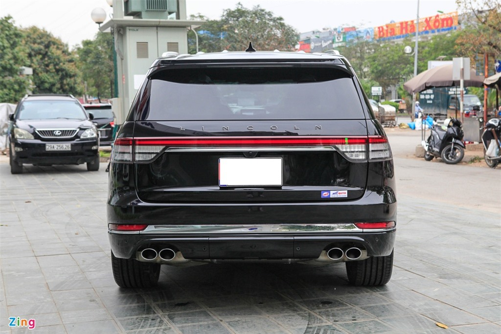 Chi tiet Lincoln Aviator Black Label - SUV 7 cho gia hon 6 ty dong anh 6