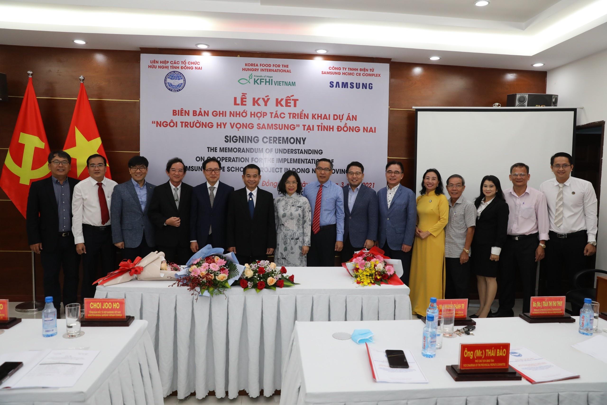 Các đại biểu tham dự lễ ký kết