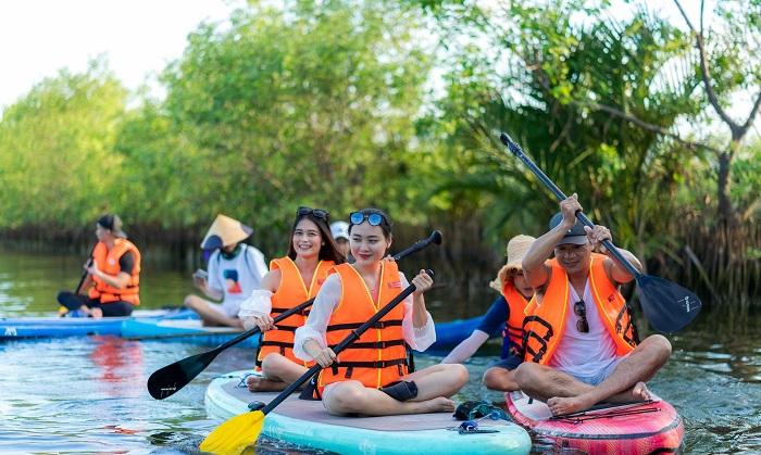 Chèo Súp đang được đưa vào hoạt động du lịch tại Phá Tam Giang Huế