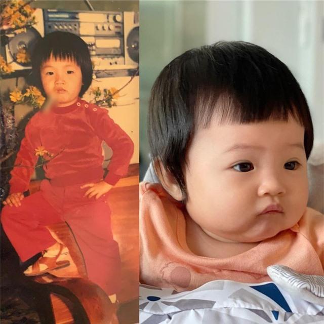 Cường Đô La so sánh ảnh mình ngày bé với con gái mà khiến dân tình trầm trồ giống nhau như đúc - Ảnh 2.