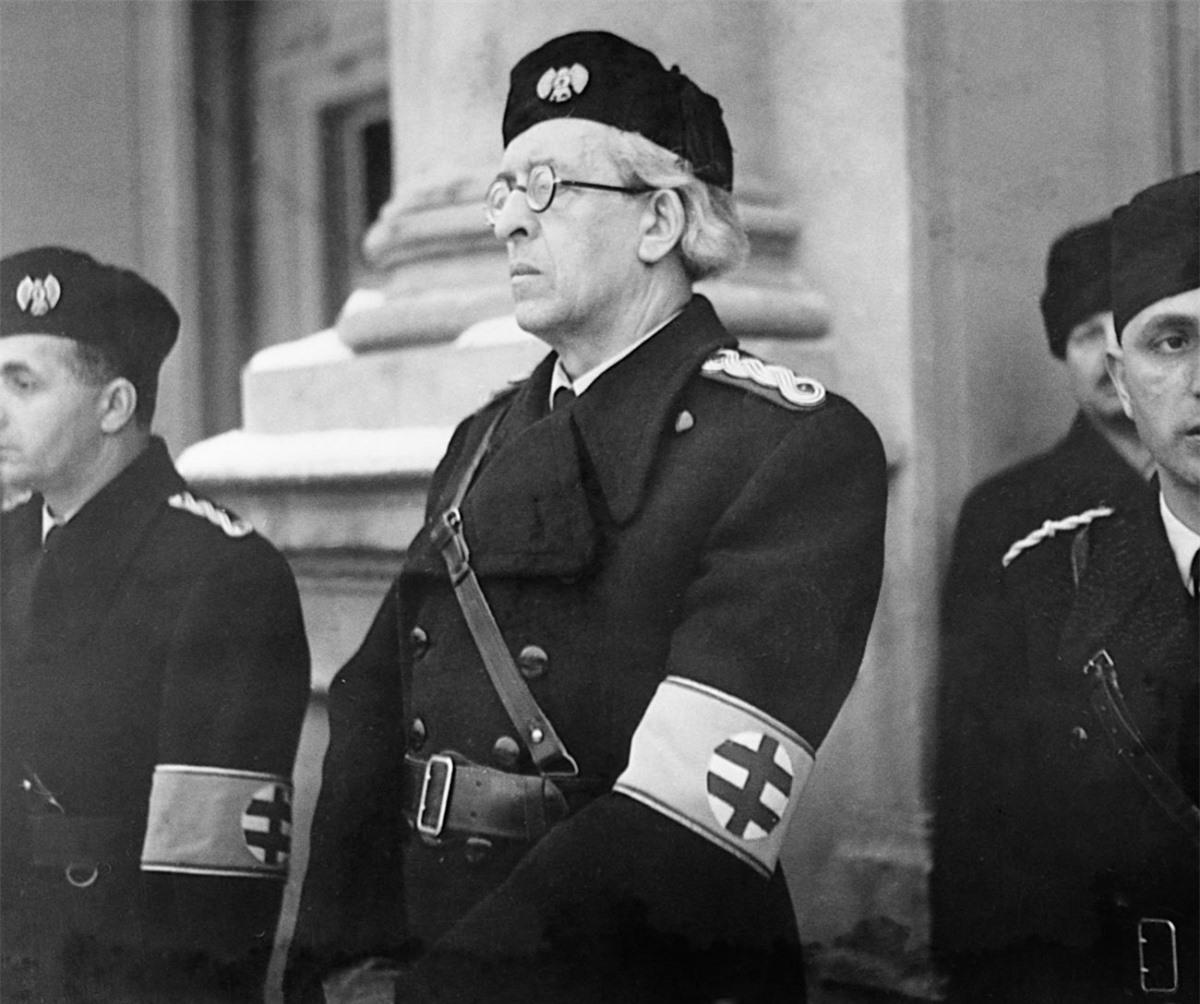 Thủ tướng Cộng hòa Slovakia Đệ nhất Vojtech Tuka. Ảnh: Getty.