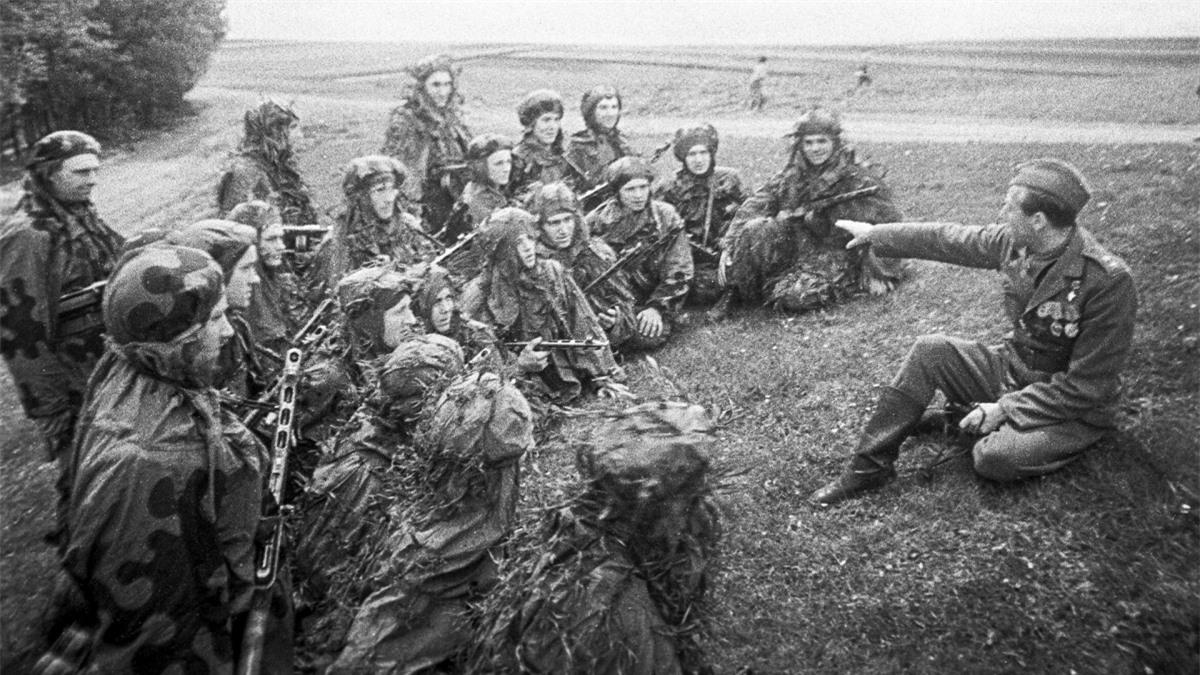 Binh sĩ Lữ đoàn Độc lập Tiệp Khắc số 1. Ảnh: Sputnik.