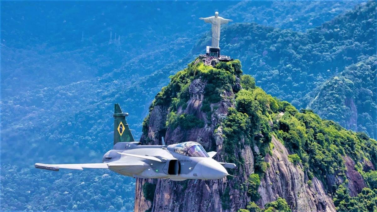 Chiếc JAS 39E Gripen của Không quân Brazil; Nguồn: thedrive.com