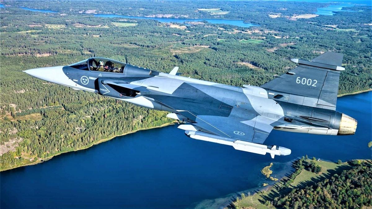 Cho đến nay và trong tương lai gần, Không quân Thụy Điển sẽ chỉ gắn với dòng Saab JAS 39 Gripen; Nguồn: thedrive.com