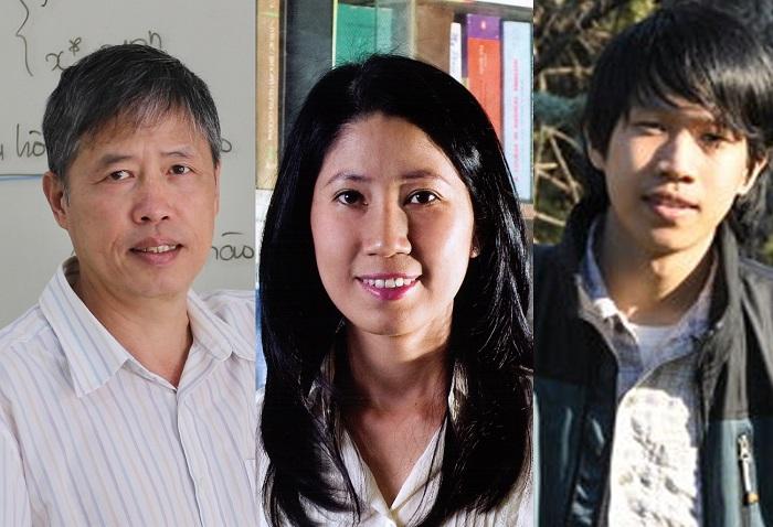 3 nhà khoa học được nhận Giải thưởng Tạ Quang Bửu năm 2020.