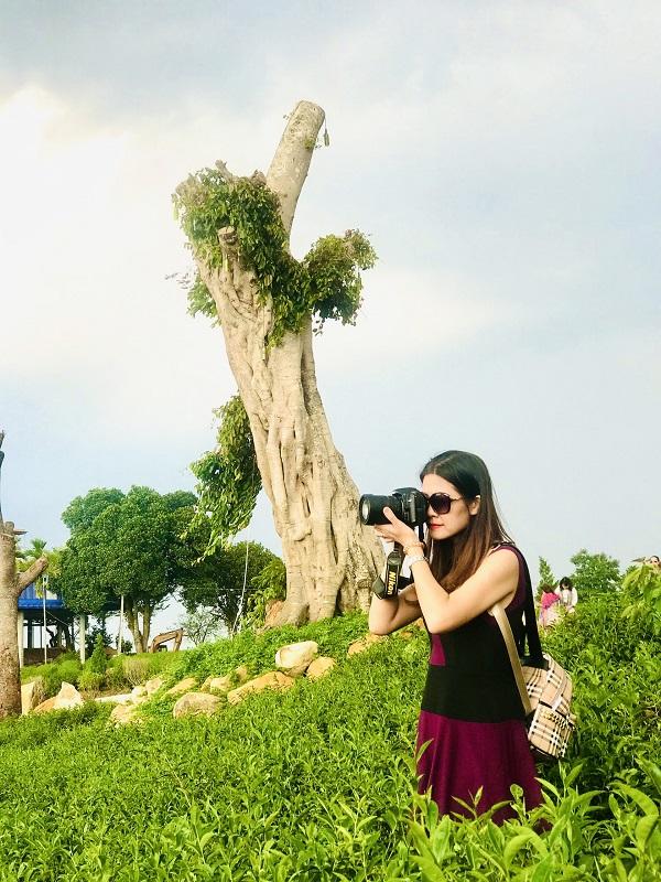 Đồi chè Kinh Lộ rộng hơn 100ha  điểm đến yêu thích của du khách khi ghé thăm Bảo Lộc.