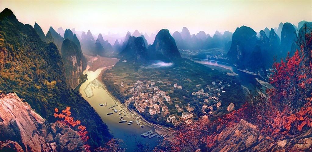 Những vùng đất đẹp như thiên đường trên trái đất
