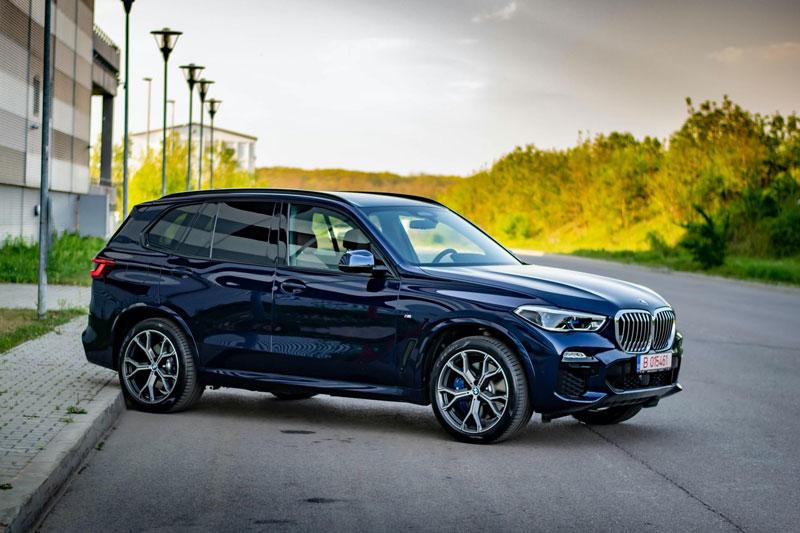 5. BMW X5.