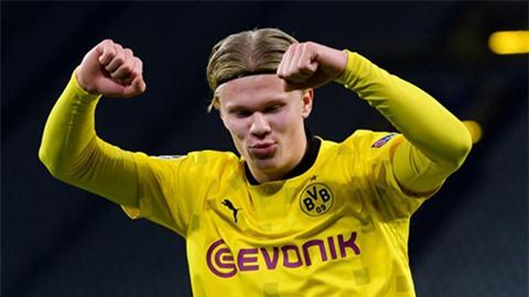 Sếp Dortmund phản ứng trước tin đại diện Haaland đàm phán với Barca và Real