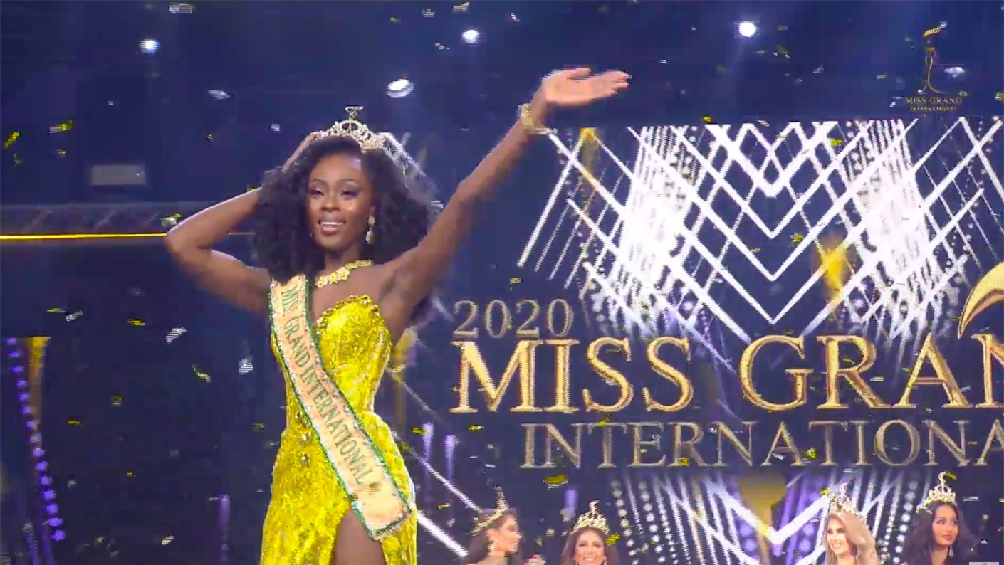 Bất ngờ với thành tích tham dự gần 10 đấu trường nhan sắc của Tân Miss Grand 2020 ảnh 2