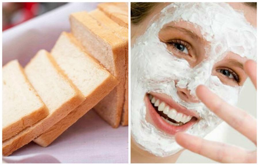 Bánh mì dùng làm mặt nạ dưỡng da