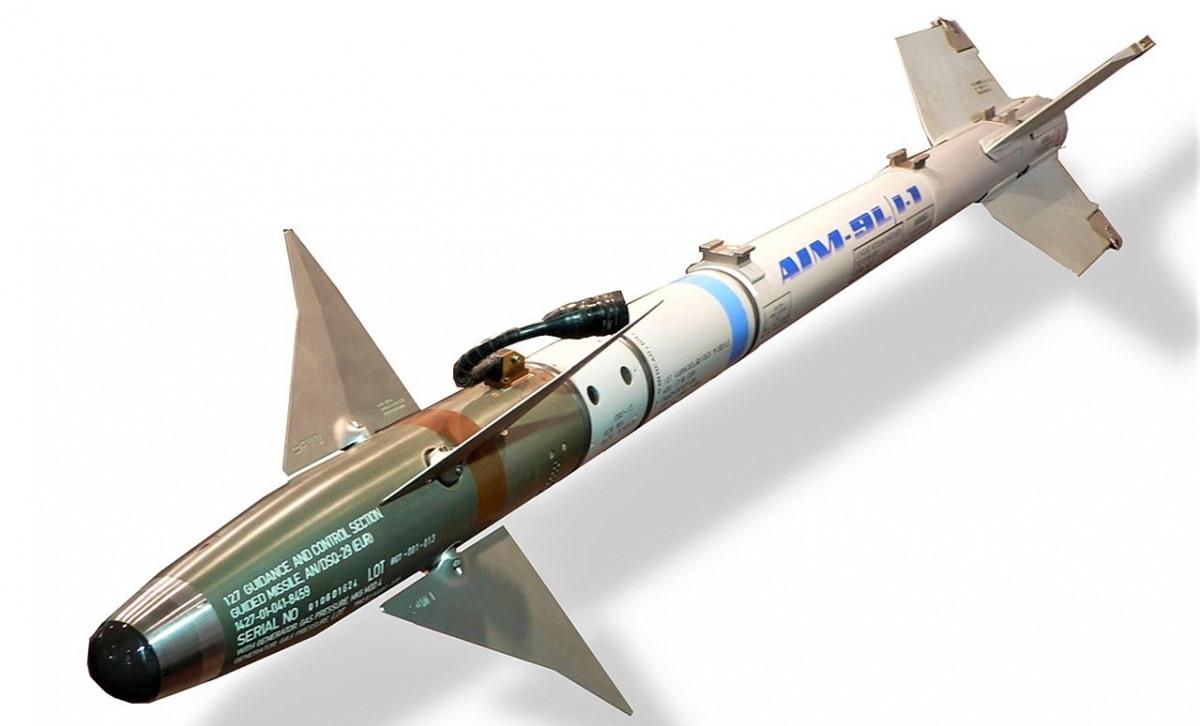 Một phiên bản tên lửa AIM-9 Sidewinder; Nguồn: wikipedia.org