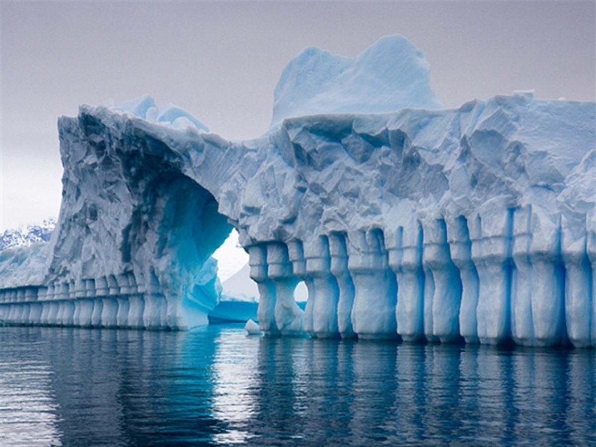 """Nam Cực có tên miền riêng trên Internet là """"aq""""."""