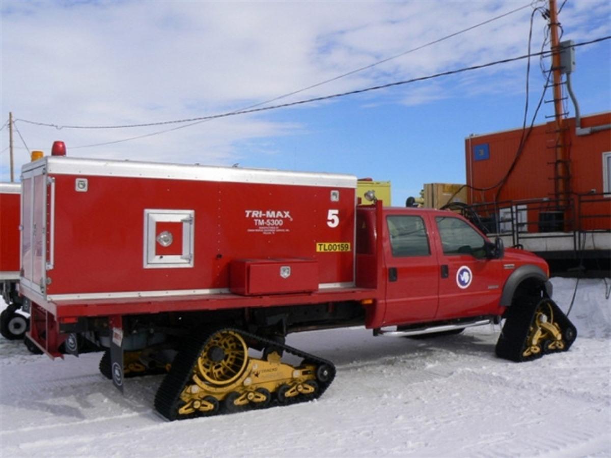 Trạm cứu hỏa ở Nam Cực thuộc về nhà ga McMurdo.