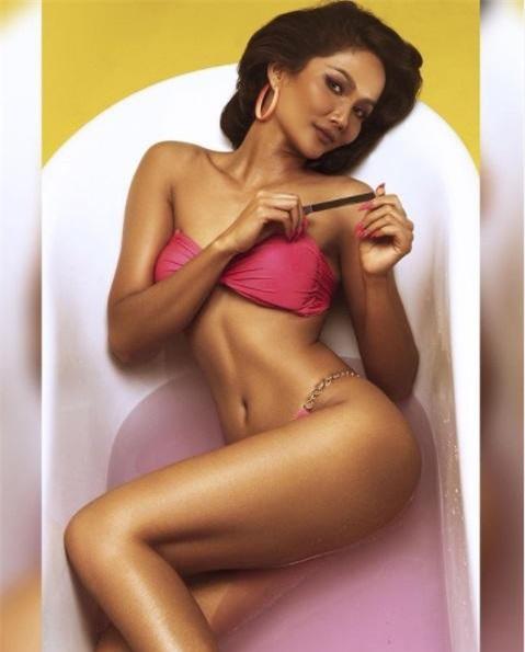 H'Hen Nie tung ảnh bikini từ thời thi hoa hậu, gây choáng với vòng eo 'con kiến' ảnh 5