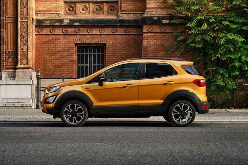 10. Ford EcoSport 2021 (giá khởi điểm: 19.995 USD).
