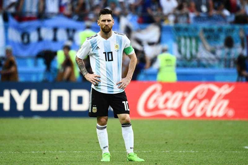 3. Lionel Messi - ĐT Argentina (71 bàn/142 trận).