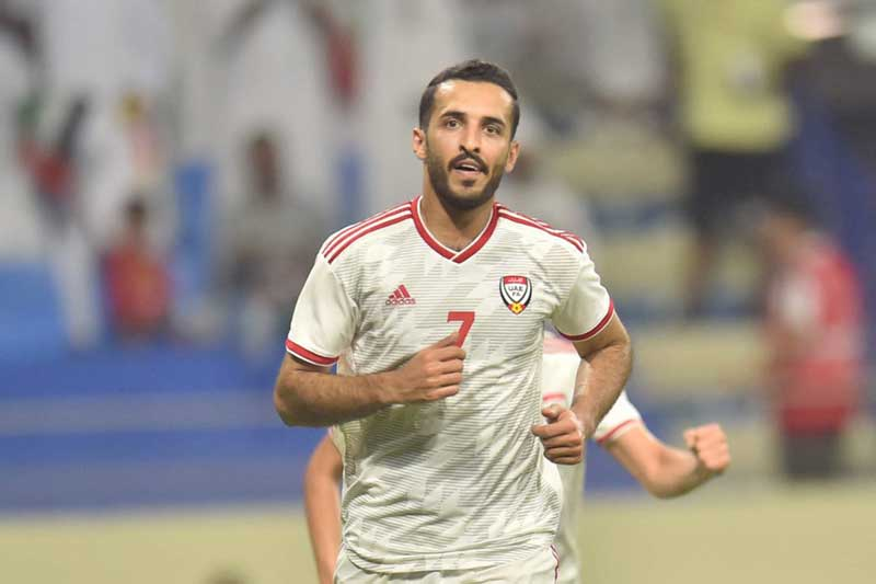 4. Ali Mabkhout - ĐT UAE (68 bàn/87 trận).
