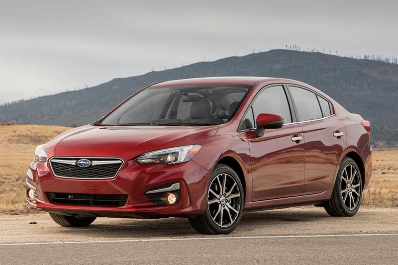 8. Subaru Impreza 2021 (giá khởi điểm: 18.795 USD).