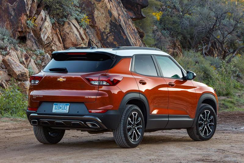 9. Chevrolet Trailblazer 2021 (giá khởi điểm: 19.000 USD).