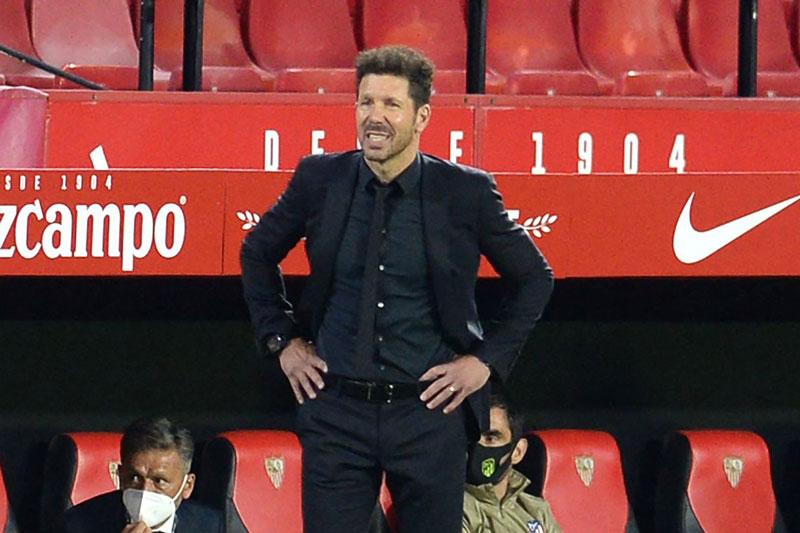 HLV Diego Simeone.
