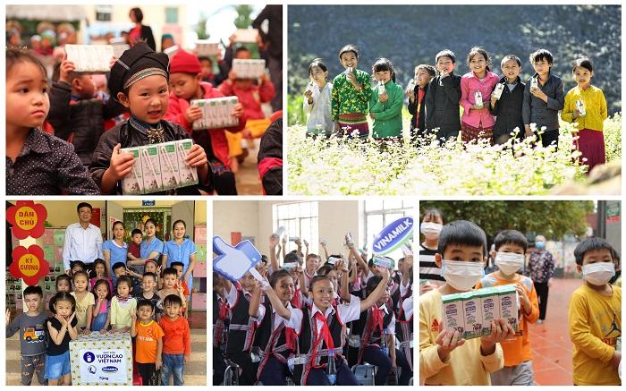 Vượt trở ngại do Covid-19, những chuyến xe yêu thương từ Quỹ sữa Vươn Cao Việt Nam và Vinamilk vẫn đều đặn mang sữa đến cho các trẻ em khắp 27 tỉnh thành trên cả nước.