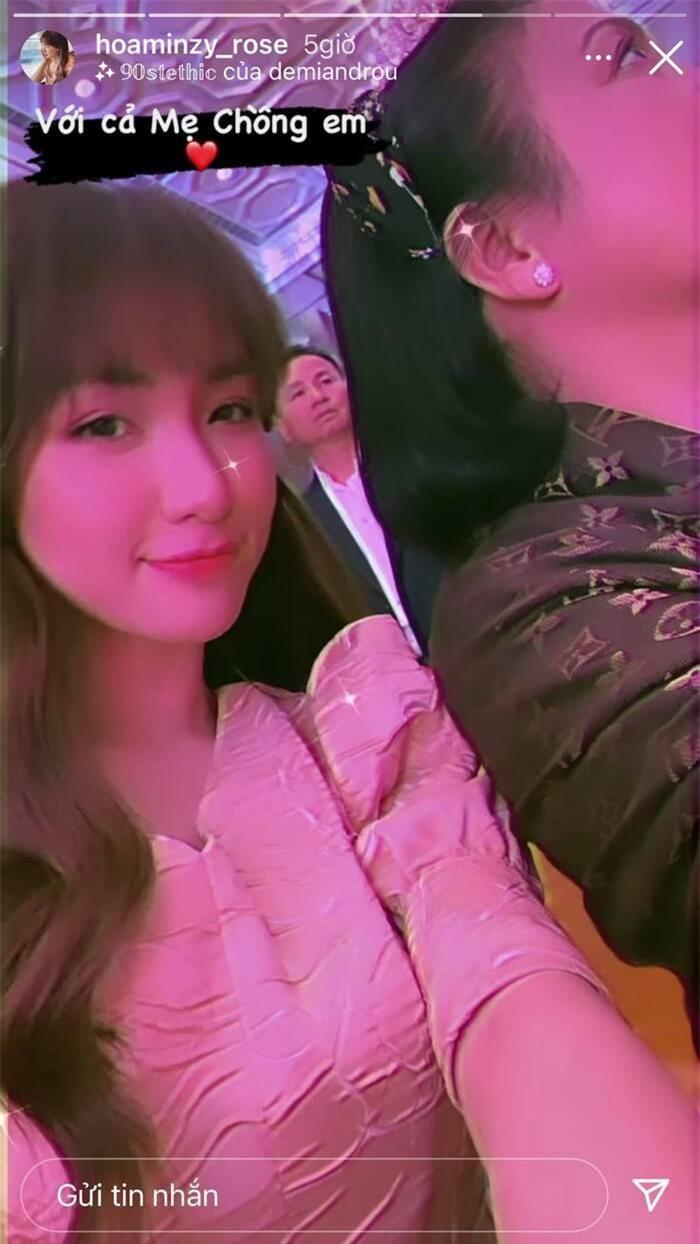 Hòa Minzy lần đầu tiết lộ lí do không công khai mặt con trai ảnh 7