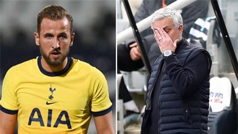 Kane chán chường, Mourinho lại phát ngôn sốc sau trận hòa của Tottenham
