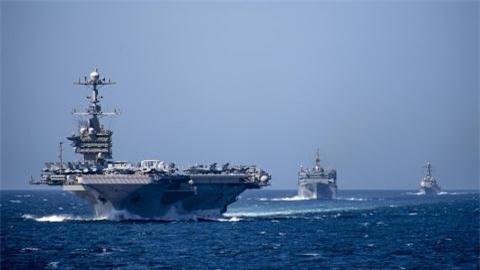 My tinh cat USS Harry S.Truman lam sat vunvi chi phi
