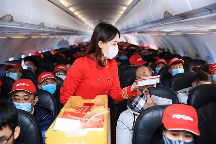 Vietjet luôn chủ động trong tất cả các kế hoạch phòng chống dịch bệnh, đạt chứng chỉ 7 sao, mức cao nhất về thực hiện các biện pháp phòng chống dịch Covid-19 dành cho các hãng hàng không toàn cầu.