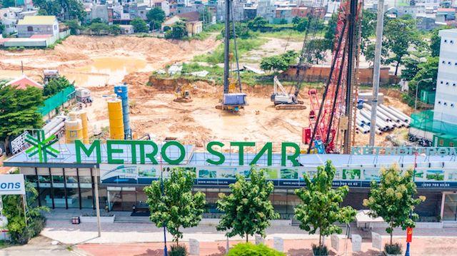 Sở Xây dựng Tp.HCM: Dự án Metro Star chưa đáp ứng các điều kiện để đưa vào kinh doanh.