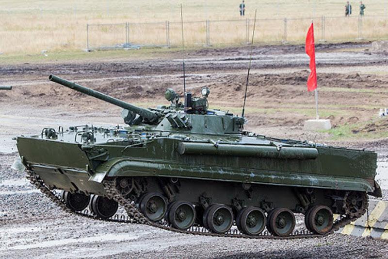 Rostec hiện đại hóa xe chiến đấu bộ binh BMP-3