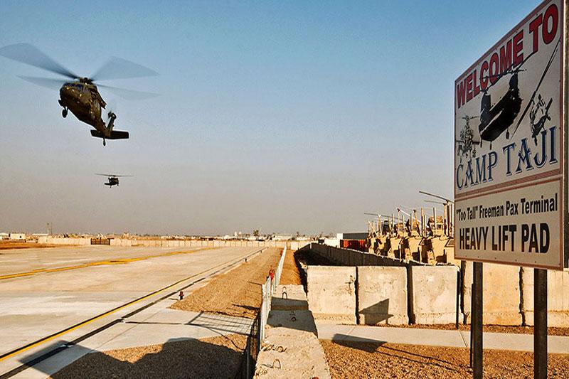 Căn cứ Mỹ tại Iraq.