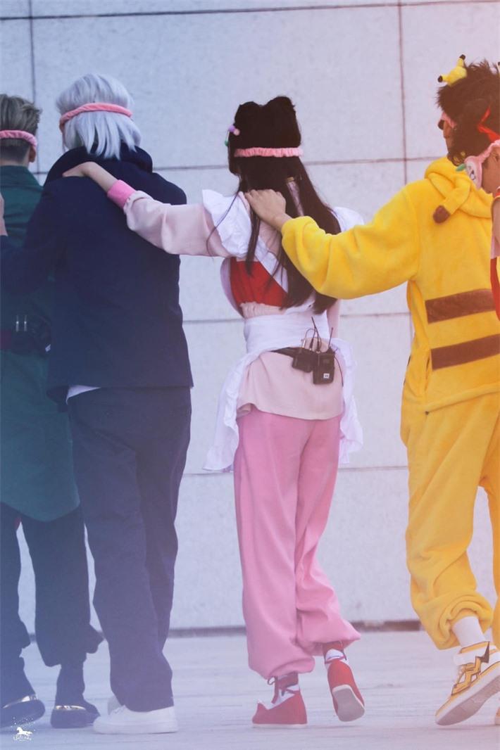 Dương Mịch cosplay truyện tranh gây sốt, ảnh cận đôi mắt to tròn khiến netizen thốt lên quá đẹp  - Ảnh 2.