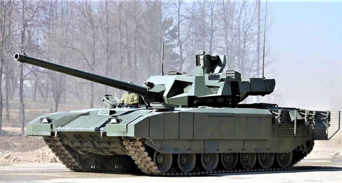 T-14 Armata (Nga) đang được coi là một mẫu xe tăng tương lai đầy hứa hẹn; Nguồn: hotcars.com