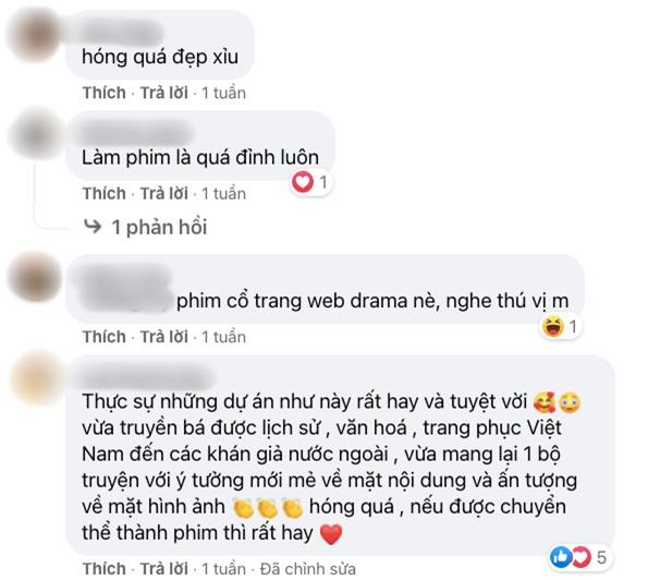 Phim cổ trang về nữ hoàng đế duy nhất của Việt Nam khiến netizen đứng ngồi không yên vì tạo hình chuẩn chỉ - Ảnh 8.