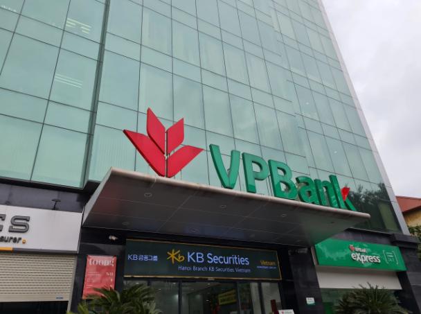 Một điểm giao dịch VPBank.