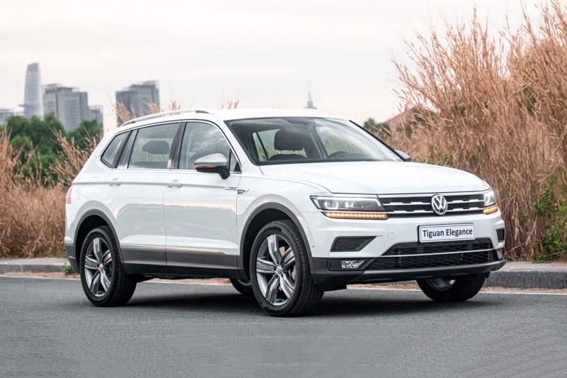 Volkswagen Tiguan Allspace 2021 phiên bản Elegance.