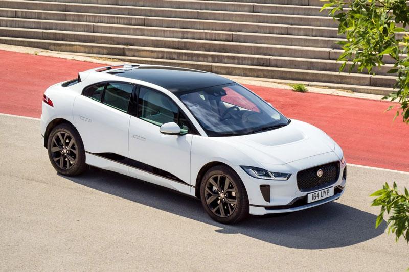 10. Jaguar I-Pace.