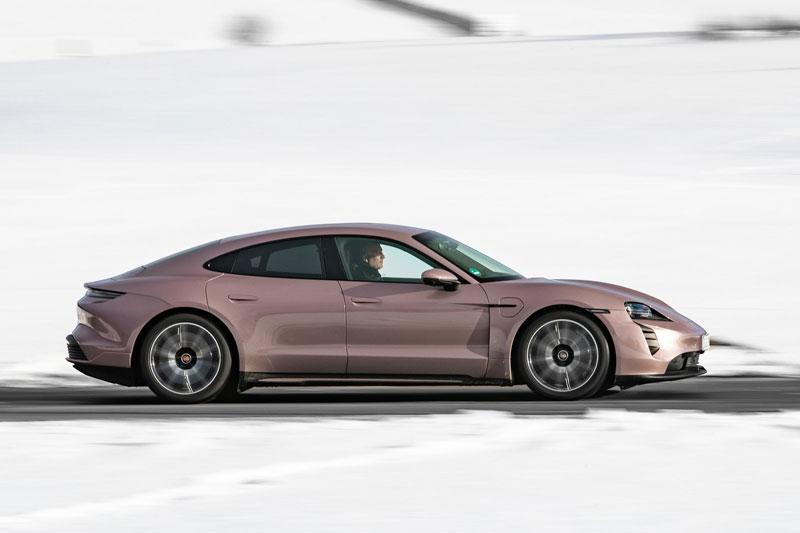 2. Porsche Taycan.