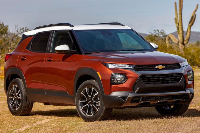 7. Chevrolet (doanh số: 418.406 chiếc).