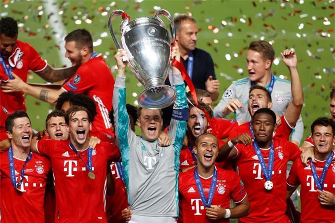 Bayern từng có 6 lần vô địch và 11 lần vào chung kết Cúp C1/Champions League
