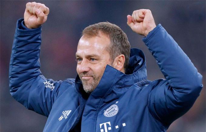 Flick cực mát tay tại Champions League kể từ khi dẫn dắt Bayern