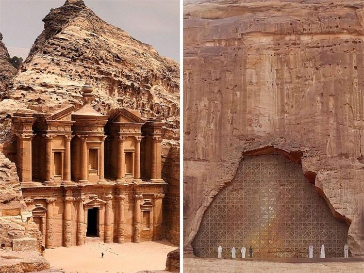 Khách sạn ẩn mình trong núi đá sa thạch cổ - Ảnh 1.