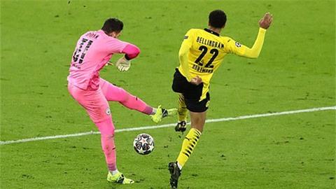 Jude Bellingham và Sancho bức xúc vì Dortmund bị từ chối bàn thắng trước Man City